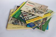 Catalogues Trains miniatures Marklin Fleischmann Egger-Bahn Minitrix