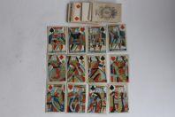 Ancien jeux de cartes a jouer XIXe siècle complet