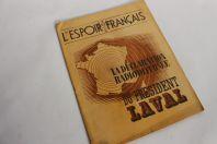 Revue L'espoir français Président Laval juin 1943