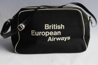 BEA British European Airways Sac bandoulière compagnie aérienne