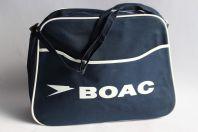 BOAC Sac bandoulière compagnie aérienne