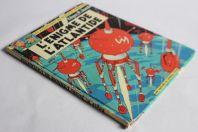 BD Les aventures de Blake et Mortimer L'énigme de l'Atlantide 1965