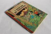 BD Le rayon du mystère L'éruption du Karamako Hergé 1956