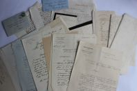Documents Lettres Correspondances succession BOREL Scout Suisse