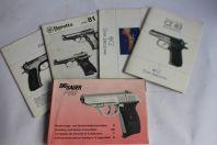 Manuels d'instruction pistolet Česká zbrojovka Beretta Sig Sauer