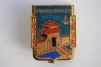 Insigne Francis Garnier Hanoï 1873 Courtois Marine