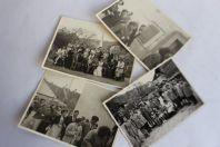 Cartes photos Suisse Petit Pâques Écoles des Tuileries Genève 1954