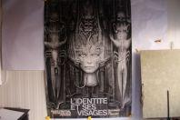 """Affiche exposition """"L'identité et ses visages"""" Musée Beaux-arts Lausanne 1977 GIGER"""