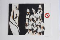Gravure lithographiée Doroteo ARNÁIZ Le planing de la faim