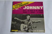 45 Tours Johnny Hallyday – Les Rocks Les Plus Terribles Vol.1