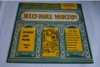 2 Vinyles 33T Jazz  Jelly-Roll Morton ‎– Classic Jazz Piano- Vol.1 et 2 - 10""