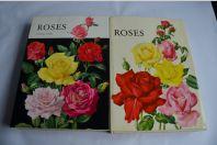 2 Livres sur les Roses Eric Bois / Anne-Marie Trechslin 1967