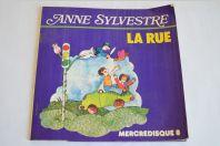 Vinyle 45T Chanson  Anne Sylvestre – La Rue