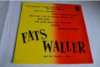 "Vinyle 10"" 33T Jazz  Fats Waller And His Rhythm - Vol. 1"