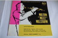 "Vinyl 10"" 33T Jazz Milton ""Mezz"" Mezzrow And His All Star Band"