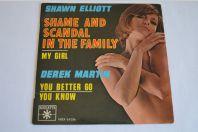 Vinyle 45T Soul S. Elliott / D. Martin – Shame And Scandal In The Family