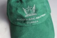 Casquette Banque Baring Brothers Sturdza