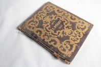 Livre album de Melle L.Puget paroles de Gustave Lemoine 1844 illustré
