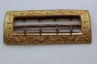 Boucle de ceinture bronze doré