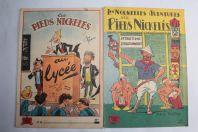 2 BD Les pieds nickeles n°18 et 8 année 1950