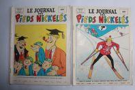 2 BD le journal des pieds nickelés 1968