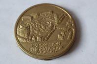 Boite-médaille Exposition Internationale des arts et techniques Paris 1937