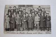 Carte postale Association des mutilés français guerre Genève