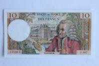 Billet 10 Francs Voltaire type 1963 France