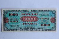 Billet 1000 Francs verso France type 1945 France