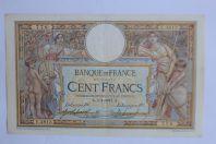 Billet 100 Francs Luc Olivier Merson type 1906 sans LOM France