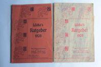 2 Catalogue Lucke's Ratgeber 1908-1909