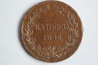 Monnaie 1 Baiocco 1845 VATICAN Grégoire XVI