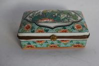 Ancienne boite porcelaine Chine