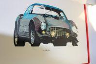 FERRARI portofolio 13 lithographies par Jerry Koh limité 100 ex.