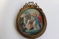 Peinture miniature XVIIIe siècle histoire de France