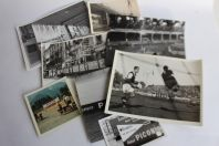 Sept photos originales campagne d'affichage pub sportive PICON Suisse