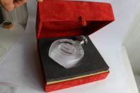 LALIQUE rare carafe cristal cognac Chateau Paulet
