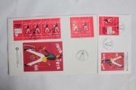 Enveloppes France FDC grand et petit format journée du timbre 1993