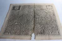 Carte Helvetiae Rhetiae & Valesiae Schweitzerland Johannes Janssonius
