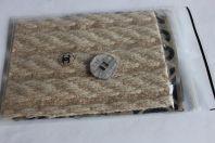 CHANEL 1 bouton métal 2,3 cm