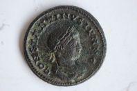 Centenionalis ou Nummus Constantine II (317-340) BEATA TRANQUILITAS