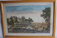 Gravure XIXe siècle Maison de Plaisance Constantinople