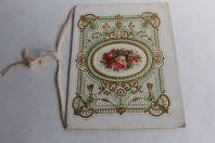 Cahier d'écolier vœux aux parents pour le nouvel an 1893
