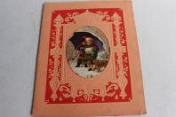 Cahier d'écolier vœux aux parents pour le nouvel an 1897