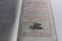 Historiae Pontificum Romanorum et S.R.E.Cardinlium 1751 tome 1