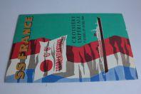 Brochure Croisière Impériale 1969 Coupe longitudinale Paquebot France