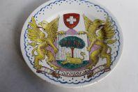 Assiette Carouge 1816 Suisse