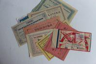 Anciens Billets de Loterie et Tombola (9)
