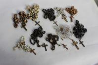 Collection de 10 chapelets anciens