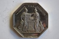 Jeton Banque de France An VIII argent